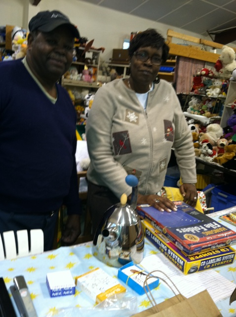 Flea Market volunteers