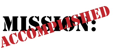 Mission Accomplished Logo