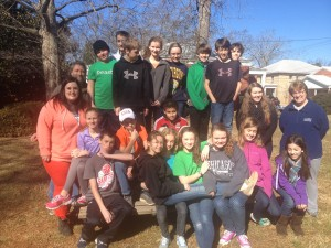 Volunteers from Decatur Presbyterian Church