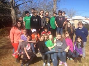 Volunteers from Decatur Presbyterian Church