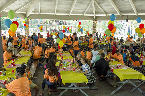 More than 500 people attended the first annual Children's Home Fam Fest.